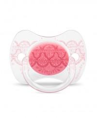 Smoczek Haute Couture 0-4m różowy