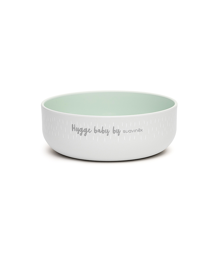 Hygge Toddler Feeding Set Green bowl