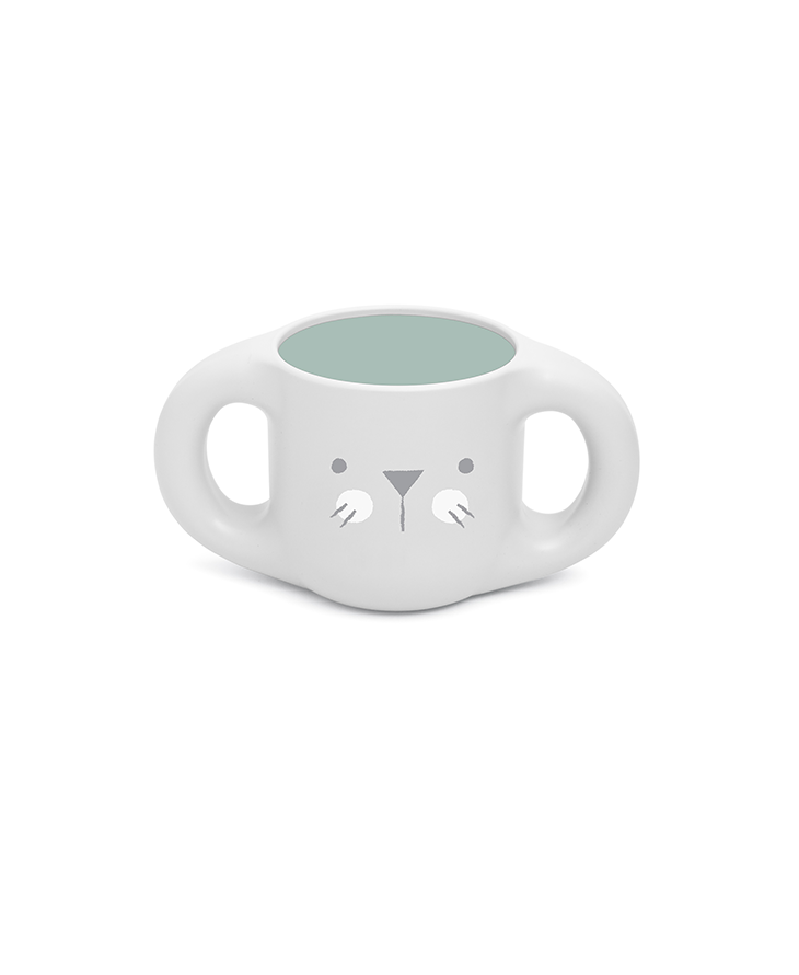 Hygge Toddler Feeding Set Green cup a