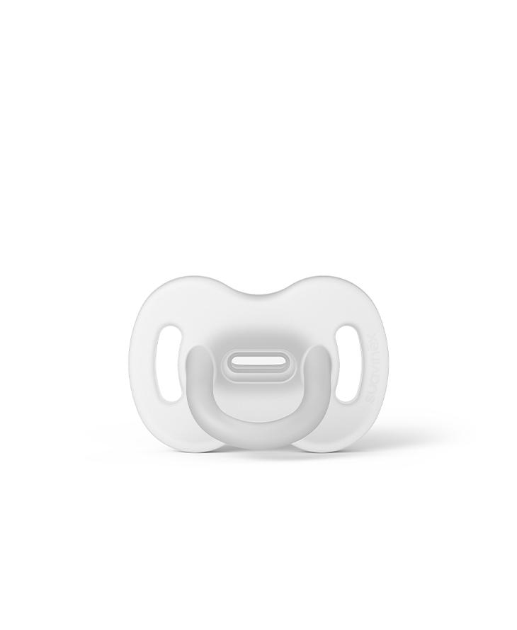 Smoczek 100% silikonowy fizjologiczny SX Pro 0-6m transparentny